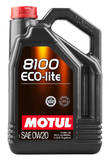Моторное масло Motul 8100 Eco-lite 0w20 (5л)