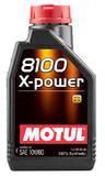 Моторное масло Motul 8100 X-POWER 10W-60 (1л)