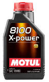 Моторное масло Motul 8100 X-POWER 10W-60 (1л)