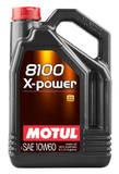 Моторное масло Motul 8100 X-POWER 10W-60 (5л)