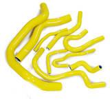 Патрубки радиатора Honda Civic D15/16 EG/EK Vtek 9шт желтые