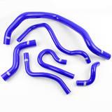Патрубки радиатора Honda Civic D15/16 EG/EK 6шт синие
