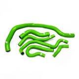 Патрубки радиатора Honda TypeR DC2 EK4/9 B16A 6шт зеленые