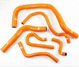 Патрубки радиатора Honda TypeR DC2 EK4/9 B16A 6шт оранжевые