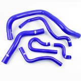 Патрубки радиатора Honda TypeR DC2 EK4/9 B16A 6шт синие