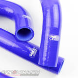 Патрубки системы охлаждения Subaru WRX/STi 08+ 10шт синие