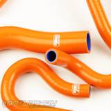 Патрубки системы охлаждения Toyota Celica 205 11 штук оранжевые