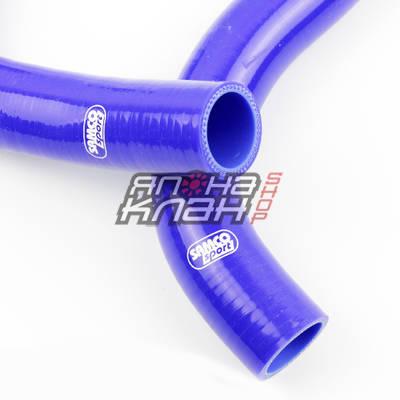 Патрубки системы охлаждения Toyota 2JZ-GTE (Aristo) 22 штуки синие