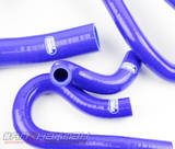 Патрубки системы охлаждения Toyota Celica 205 11 штук синие