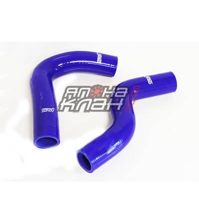 Патрубки радиатора Subaru GC8 2шт синие