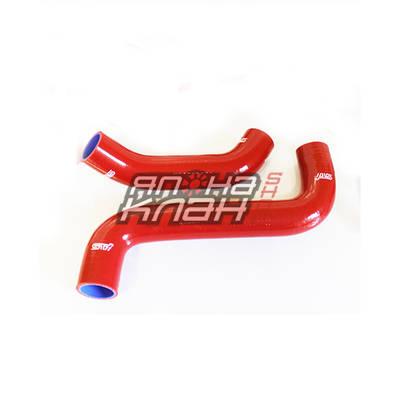 Патрубки радиатора Subaru GD 2шт красный