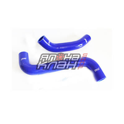 Патрубки радиатора Subaru GRB WRX/STi 2008+ 2 шт синие