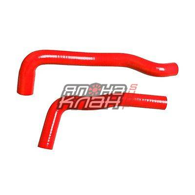 Патрубки радиатора Toyota JZX100 - 110 1JZ-GTE красные