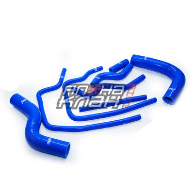 Патрубки системы охлаждения Subaru GC8 8 шт синий