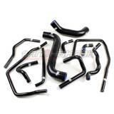 Патрубки системы охлаждения Subaru GD 11шт черный