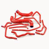 Патрубки системы охлаждения Subaru GD 11шт красные