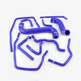 Патрубки системы охлаждения Subaru GD 11шт синий