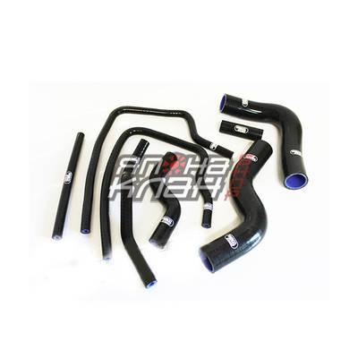 Патрубки системы охлаждения Subaru GC8 8 шт черные