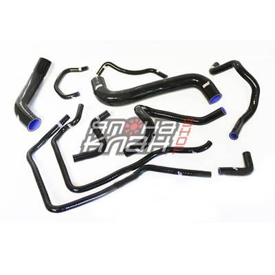 Патрубки системы охлаждения Subaru WRX/STi GRB 08+ 10шт черные