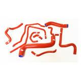 Патрубки системы охлаждения Subaru WRX/STi GRB 08+ 10шт красные