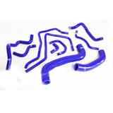 Патрубки системы охлаждения Subaru WRX/STi GRB 08+ 10шт синие