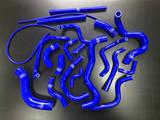 Патрубки системы охлаждения Toyota JZX100 (21шт) синие