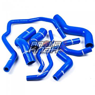 Патрубки системы охлаждения VW GOLF GTI 2.0 FSI MKV MK 5 Turbo 8 штук синие