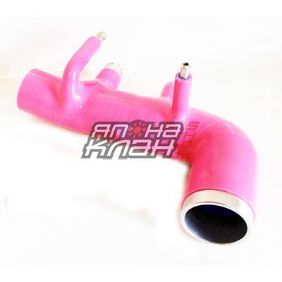 Патрубок турбины впускной Subaru GC8 EJ20 STi vers 5-6 розовый