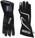 Перчатки для автоспорта SPARCO Land RG-3.1, FIA, черный, размер 10, 00130810NR
