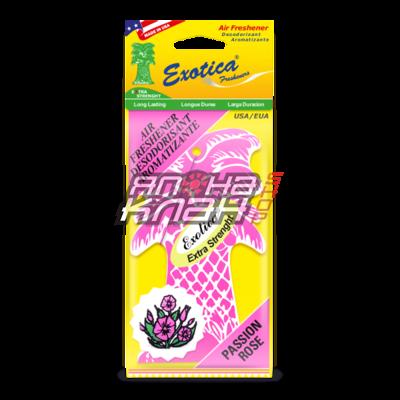 Подвесной ароматизатор Exotica Страстная роза
