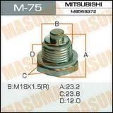 Пробка сливная масляная с магнитом Masuma М18-1.5 (Ключ)