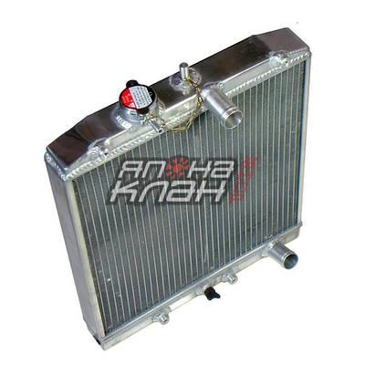 Радиатор алюминиевый Honda Civic 92-02 40мм