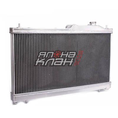 Радиатор алюминиевый Subaru SG5 turbo 40мм 2004г с горловиной AT