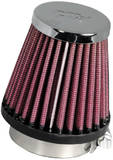 Фильтр нулевого сопротивления универсальный K&N RC-1060 Chrome Filter