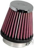 Фильтр нулевого сопротивления универсальный K&N RC-1060 Chrome Filter 49мм