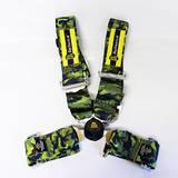 Ремни безопасности 4х точечные с омологацией Beltenick камуфляж