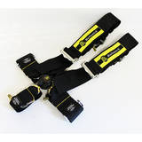 Ремни безопасности 5х точечные с омологацией Beltenick черные