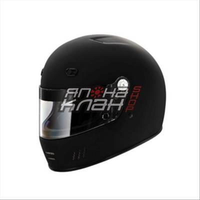 Шлем омологированный спортивный SF4 черный S