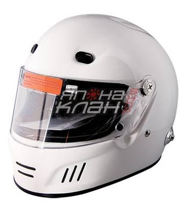 Шлем омологированный спортивный SF4 белый XL