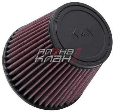 Фильтр нулевого сопротивления универсальный K&N RU-3580   Rubber Filter