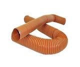 Воздуховод силиконовый, диаметр 76mm, до +315°С, цена за 1м, SFS Performance SFD-76-1-5