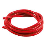 Шланг силиконовый 8мм (вакуумный) красный