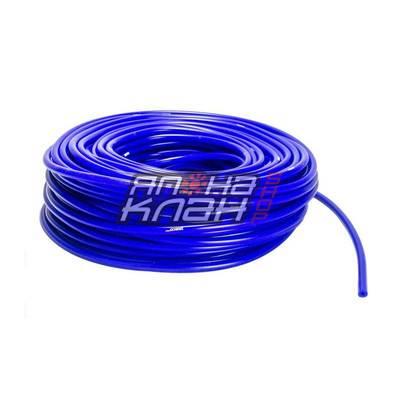 Шланг силиконовый 4*7мм (вакуумный) синий