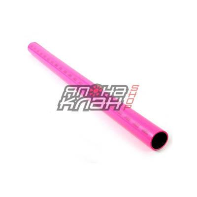 Шланг силиконовый розовый 63мм 1 метр армированный