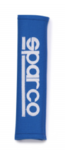"Накладки на ремень безопасности 2"" тюнинг, SPARCO, 2 шт, синие, 01090R3AZ"
