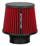 Фильтр нулевого сопротивления универсальный Spectre 9132 RED посадочный диаметр 76mm.