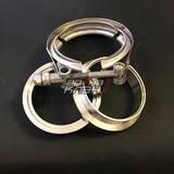 V-хомут с фланцами 2.5 (63мм) Премиум Tbox V-band