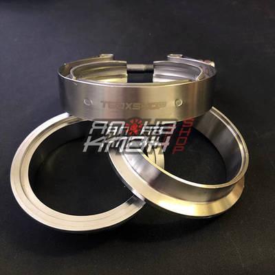 V-хомут с фланцами 4 (102мм) Премиум Tbox V-band