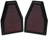 Воздушный фильтр нулевого сопротивления K&N 33-2484 Porsche 911 (991) 2012