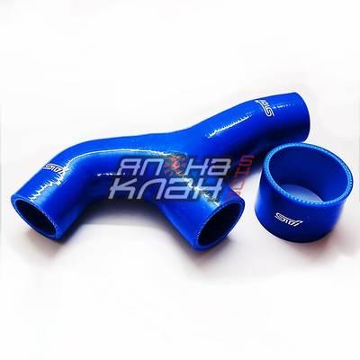 Y-пайп Subaru Impreza GDB (02~'06) синий